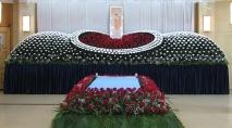 日本式生花祭壇の製作