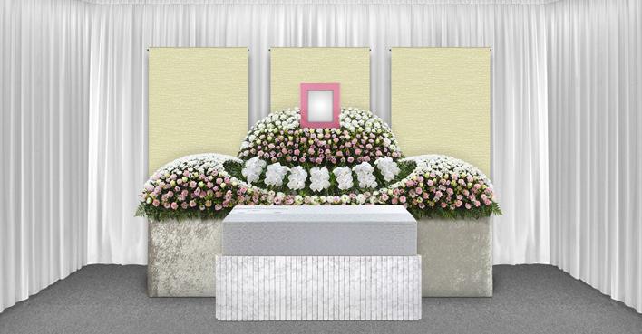 生花祭壇のCGイメージ01