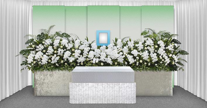 生花祭壇のCGイメージ02