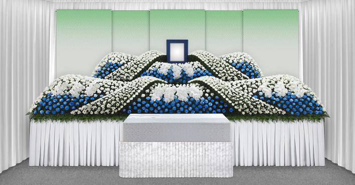 生花祭壇のCGイメージ03