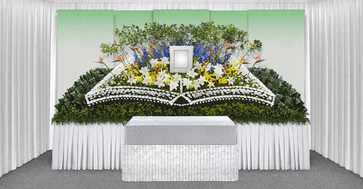 生花祭壇のCGイメージ04