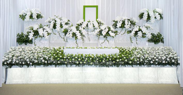 生花祭壇のCGイメージ06
