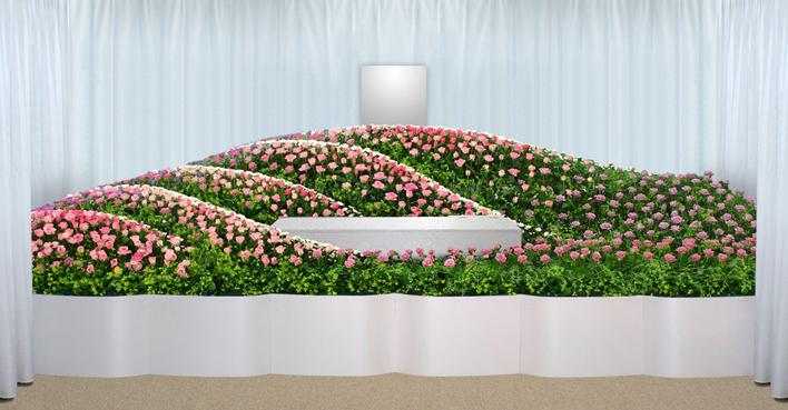 生花祭壇のCGイメージ07