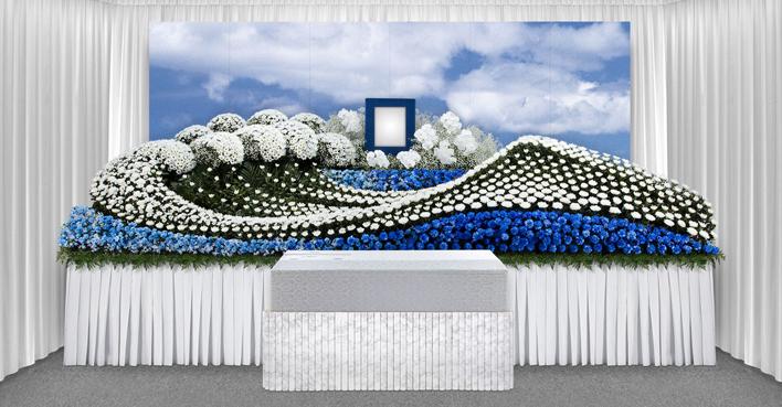 生花祭壇のCGイメージ08